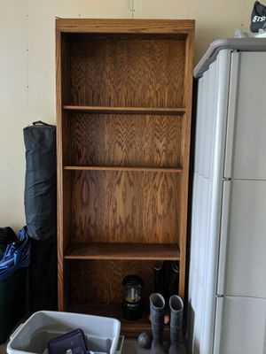 2 All Wood Bookshelves . Nice. FREE for Sale in Bothell, WA
