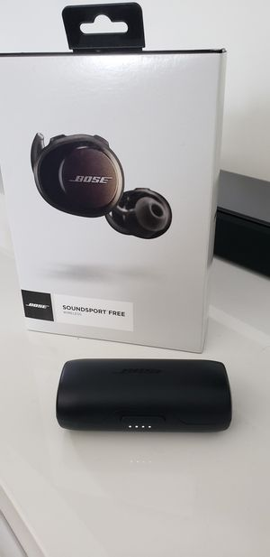 Bose Soundsport wireless earbuds for Sale in Miami, FL