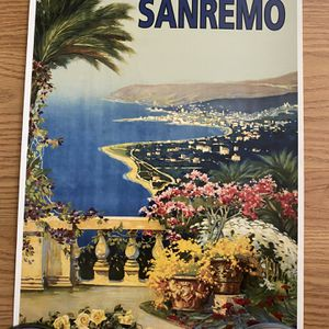 Sanremo Poster for Sale in Gilroy, CA