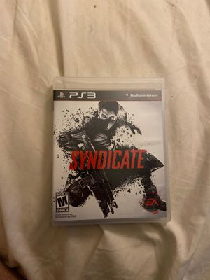 Syndicate ps3 for Sale in Gilbert, AZ