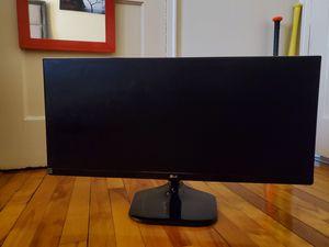 LG ultrawide Monitor for Sale in Boston, MA