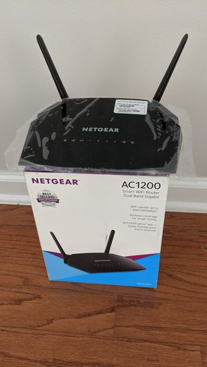NetGear Dual Band Wifi Router AC1200 Wireless Speed up to 1200 Mbps for Sale in Cordova, TN