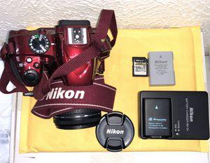 NIKON DSLR D3400 w/ kit and lenses for Sale in Irving, TX