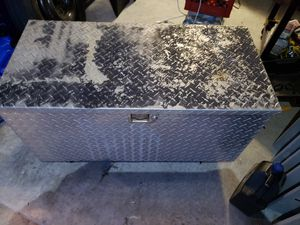 Aluminum trailer tongue box with lock and key for Sale in Port St. Lucie, FL