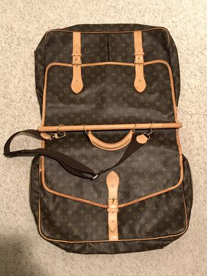 "Louis Vuitton ""Week-Ender"" Garment Bag for Sale in Northborough, MA"