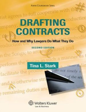 Drafting Contracts: How and Why Lawyers Do What They Do [pdf/eBook] - $20 for Sale in Anaheim, CA