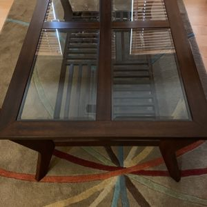 Coffee Table + 2 End Tables for Sale in Arlington, VA