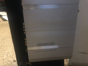 Kicker Subs with Kenwood amp for Sale in Fairfax, VA