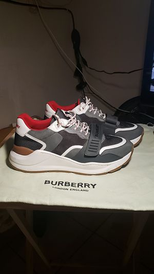 "Mens Burberry ""Regis"" designer sneakers for Sale in San Diego, CA"
