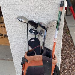Taylor Made Golf Bag and Clubs for Sale in Chandler,  AZ