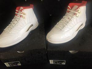 Jordan 12 Fiba Size 9.5/10 for Sale in Bell, CA