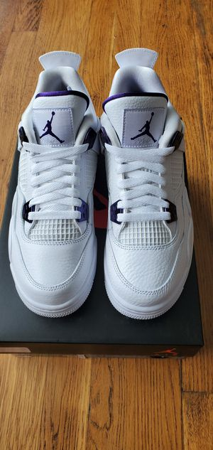 Jordan Retro 4 Metallic Purple GS for Sale in Cleveland, OH