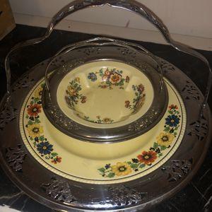 Vintage Faberware Serving Platter & Dish for Sale in West End, NC