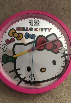Hello kitty clock for Sale in Germantown, MD