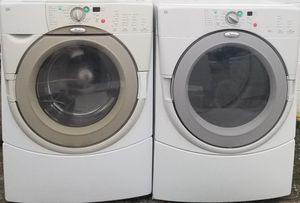 WHIRLPOOL DUET WASHER AND DRYER FRON LOAD for Sale in Gallatin, TN