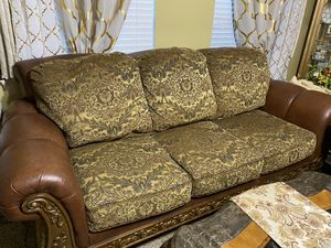 Sofa, loveseat, side chair and 2 end table and a coffee table from Ashley's for Sale in Orlando, FL