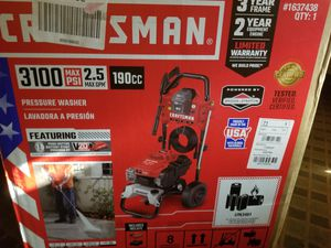 Craftsman 3100 psi gas pressure washer for Sale in Fort Worth, TX