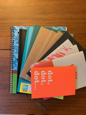 Assortment of Partially Used Notebooks for Sale in Seattle, WA