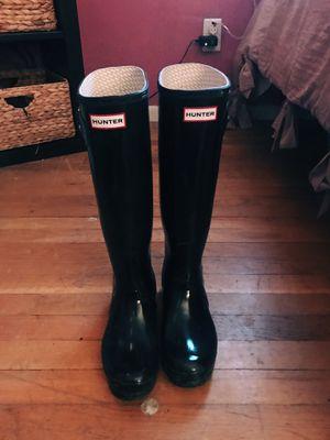 Black Hunter Rain Boots! for Sale in Burlington, MA