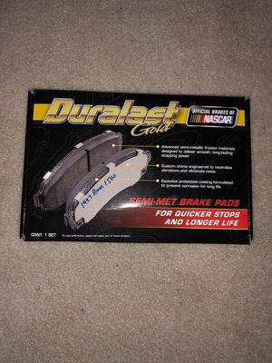 NEW DG369 Duralast Gold brake pads for 1997 Dodge Ram 1500 for Sale in Kennesaw, GA