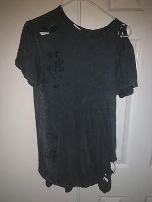 Fashion nova shirt with holes for Sale in Smyrna, TN