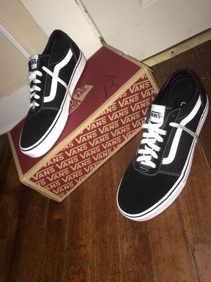 No trades❗️❗️ Old Skool Vans Size 9.5. Brand new ❗️40 $ lowest 30$ for Sale in Meriden, CT