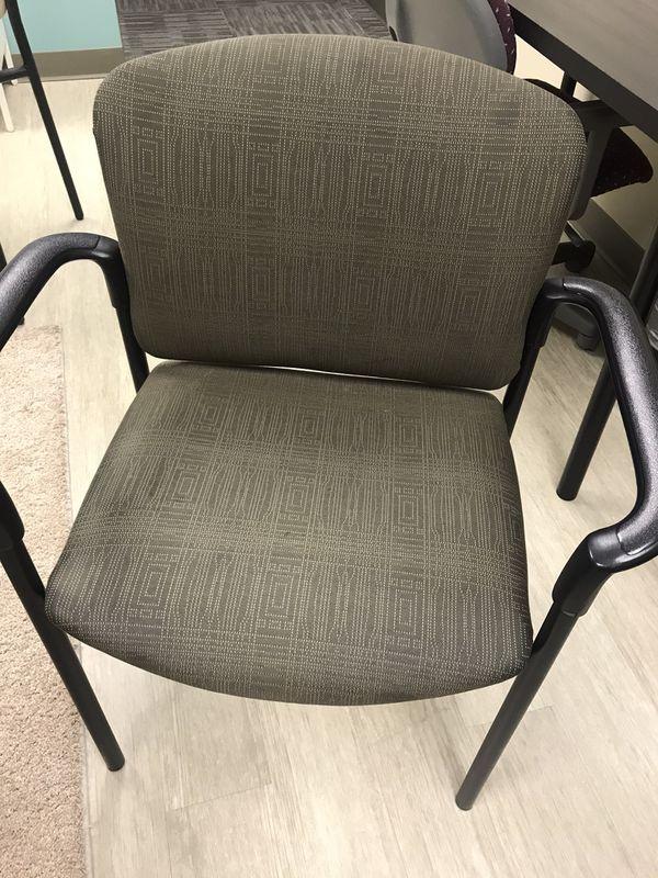 Green desk/reception chair