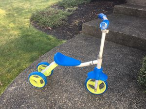 Convertible scooter / strider tricycle for Sale in Lake Stevens, WA