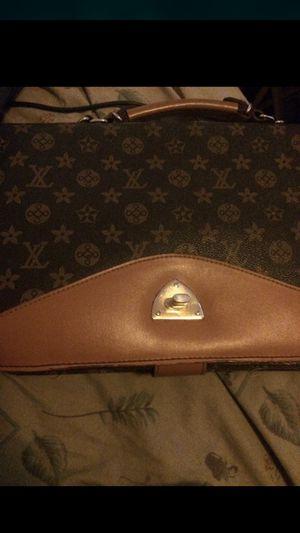 Louis Vuitton designer mini brief case used for Sale in College Park, MD
