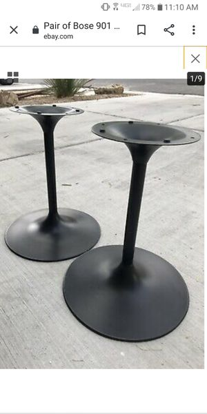 Bose 901 speaker stands for Sale in Gibsonia, PA