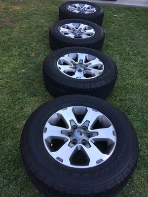 Ford F-150 wheels/rims and tires 6 lugs for Sale in Long Beach, CA