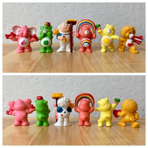 Vintage Care Bears Collectable Figurine Toy Lot of 6 for Sale in Elizabethtown, PA