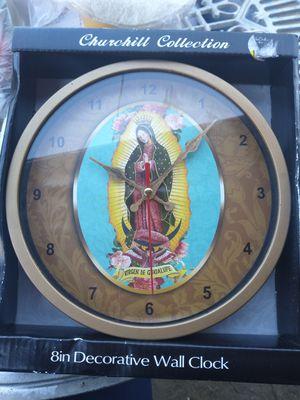 New Decorative Wall Clock (Virgen de Guadalupe) for Sale in Baldwin Park, CA