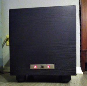 JBL: A100PBLKAM-2 STAGE AUDIO SUB WOOFER BLACK SPEAKER BOX for Sale in Austin, TX
