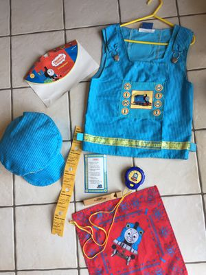 Thomas & Friends Li'l Engineer Outfit Costume w/ Accessories pictured for Sale in Bethlehem, PA