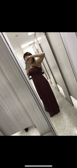 Red wine prom dress for Sale in Lakewood, CO