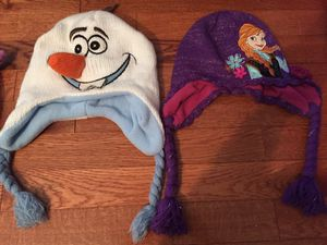 Olaf and Anna winter hats for Sale in Burke, VA