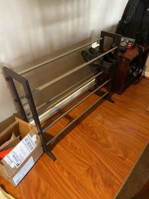 Extendable shoe rack for Sale in Somerville, MA