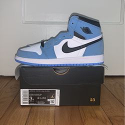 Jordan 1 Retro High OG University Blue (PS) Size 3Y for Sale in Baltimore,  MD