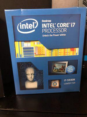 Intel i7-5930k CPU LGA2011V3 for Sale in Peoria, AZ