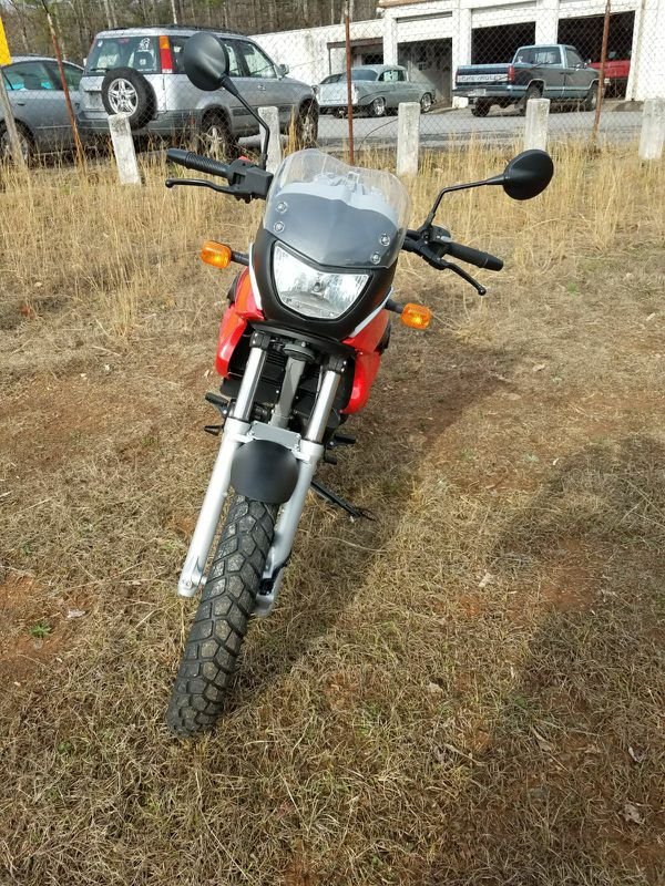 BMW 2010 G650GS motorcycle low miles
