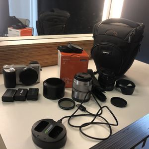 Sony a6000 with 50mm and 35mm lenses and accessories for Sale in San Jose, CA