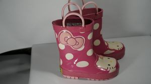 HELLO KITTY RAIN BOOTS for Sale in Lewisville, TX