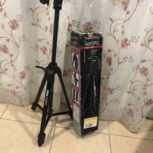 Platinumplus Sunpak 6600PG Digital Tripod Black In Box Medium Duty for Sale in Stanton, CA