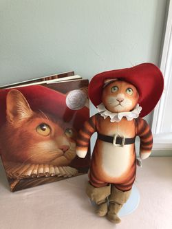 Puss In Boots With Character Doll for Sale in Springfield, MA