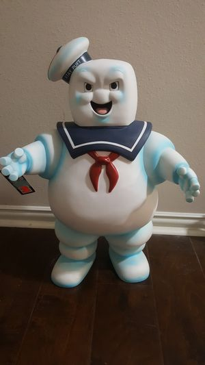 """Huge 24"""" Stay puft marshmallow man ghostbusters diamond select toys figure bank. Rare for Sale in Cypress, TX"""