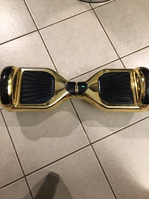 Gold Hoverboard for Sale in Mountlake Terrace, WA