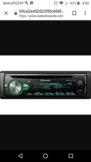 Pioneer cd player with Bluetooth, aux and usb for Sale in Houston, TX