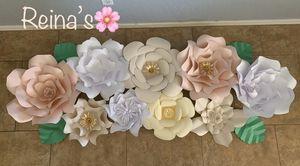 Paper flowers/flores de papel for Sale in Tolleson, AZ