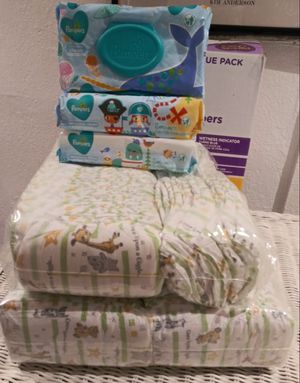 Size # 2 (140 Count) Brand Parent Choice + 3 pack's baby wipes take all for $25 No Holds Lower offer will ignored for Sale in Vallejo, CA